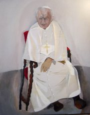 Portrait of Pope John Paul II
