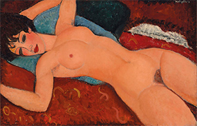 Amedeo Modigliani's 'Nu Couché' (1917-18)