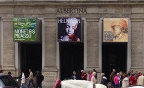 The Gottfried Helnwein retrospective exhibition, Albertina Museum, Vienna