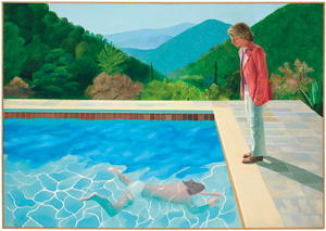 Hockney's 'Pool with Two Figures'